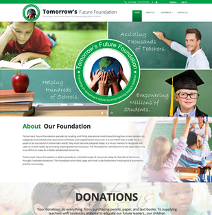 charity website donate