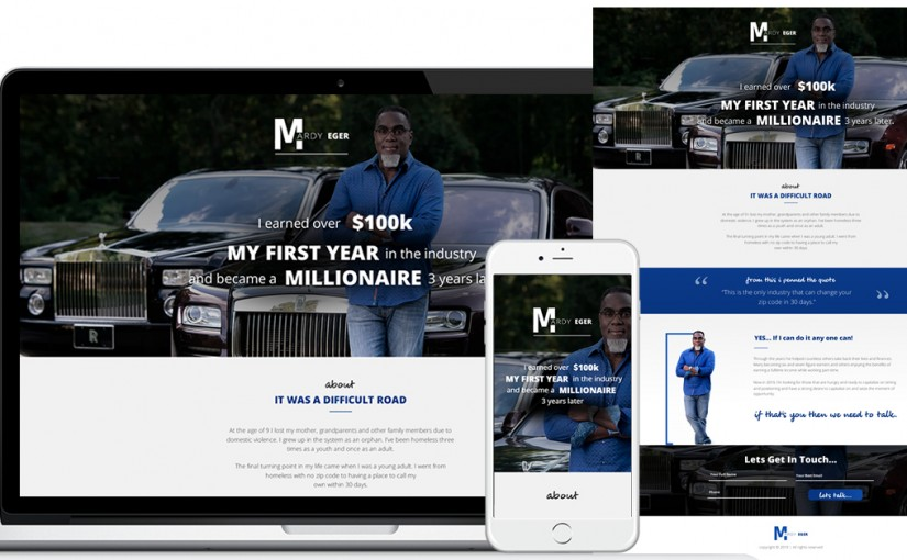mardy-landing-page